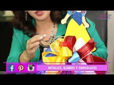 Blanca Nieves centro de mesa / centerpiece By Gaby Delgado - YouTube Snow White Birthday, Holiday Crafts, Birthday Parties, Balloons, Videos, Party, Gifts, Halloween, Snow White