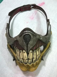 Immortan Joe respirator, from Mad Max Fury Road