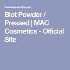 Blot Powder / Pressed   MAC Cosmetics - Official Site