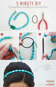 Hair Accessories #DIY definite necessity this summer!