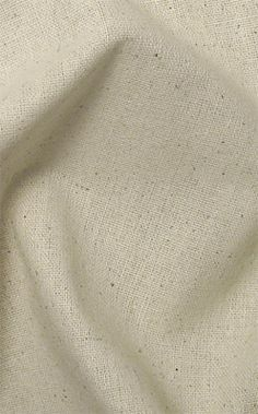 """Osnaburg, 45"""" wide at $3.50/yard.Buy 12 yards or so, dye the lot, and then stitch/knot/fringe the edges to make tablecloths, napkins, and cleaning cloths."""
