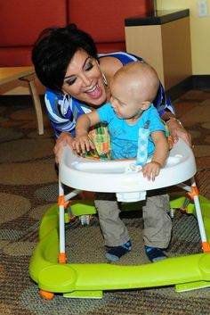 Kourtney Kardashian Kris Jenner Children's Hospital LA Visit with OPI