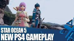 Star Ocean: Integrity and Faithlessness - New PS4 Gameplay & Info