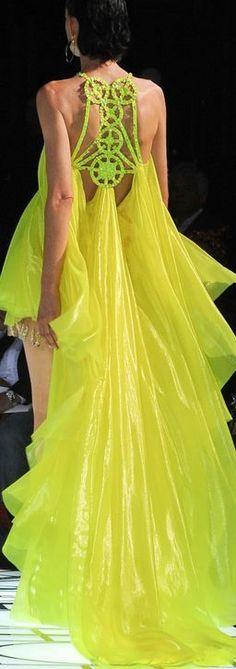 Yellow Dress Ramp Fashion-ramp style-yellow-