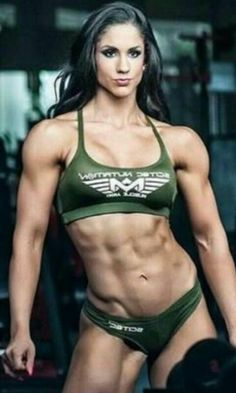 Fitness Motivation Pictures, Fit Girl Motivation, Love Fitness, Muscle Fitness, Ripped Girls, Sexy Bikini, Muscular Women, Muscle Girls, Physical Fitness