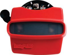 Bring out your clients' inner child with these jazzy reel viewers featuring your  images. Each reel holds seven photos that can be enhanced with 3-D text and  effects. These are charming for displaying photos of the newly married couple on the  tables at the reception. Order a single viewer and reel or multiple sets at a volume  discount. Image3D, image3d.com