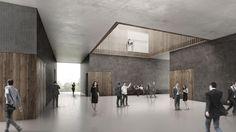 Amtsgericht Haßfurt - Nieto Sobejano gewinnen in Bayern - interior design