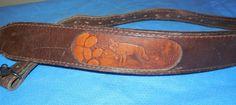 Torel #1330 Fox Design Leather Rifle Sling #Torel