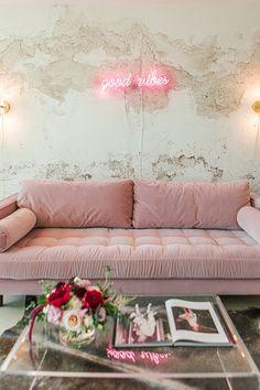 Finding Balance - A Modern Feminine Apartment Made For A Glam #Girlboss - Photos