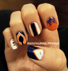 Chicago Bears Nails
