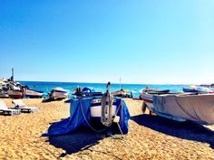 Villasar de Mar beach besotted