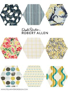 Dwell Studio Fabrics, Robert Allen Fabrics, fabric patterns, fabric design board, online interior design services, e-design, e-decorating, www.stellarinteriordesign.com/dwell-studio-fabric-robert-allen/