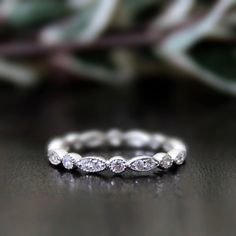 0.64 ct.tw Eternity Band Ring-Brilliant Cut Diamond by Besbelle
