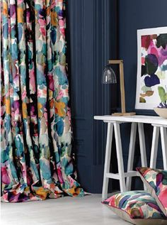 More fabulous digitally printed fabrics from Bluebell Grey launching at M&O