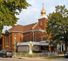 St. Mary's Byzantine Catholic Church,  Whiting, Indiana