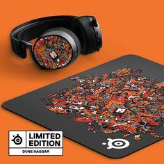 Mousepad, Dune, Original Artwork, Plates, Printed, Artist, Instagram, Licence Plates, Dishes
