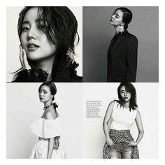 Black & White. Moon Chae Won in Harper's Bazaar. Beautiful as always.  pic credit to right owner✌  #moonchaewon #bbong #goddess #girlcrush