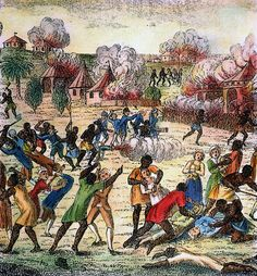 How is the U.S war in Iraq similar to the Haiti revolution against the french?