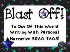 It's so frustrating when you conference with students after a fantastic mini-lesson and you see no evidence of them applying the learning, isn't it? This product, by Wild Child Designs, motivates students to do just that. It includes 16 colored brag tags that detail SPECIFIC WRITING TARGETS for writing personal narratives. #writing #personalnarrative #bragtags #writersworkshop