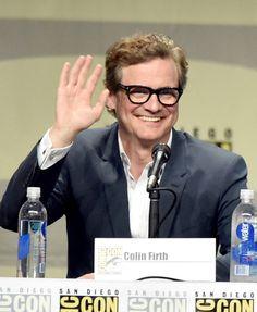 Colin Firth comic-con