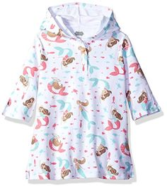 9362b119d9f4 Mud Pie Baby Toddler Girls' Cover up Swimwear Mermaid 24Months2T 3Toddler  These cover ups from
