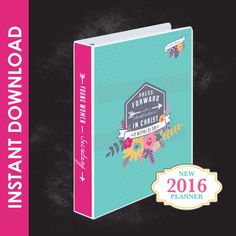 2016 LDS Young Women Theme Binder and Planner Set - Mutual