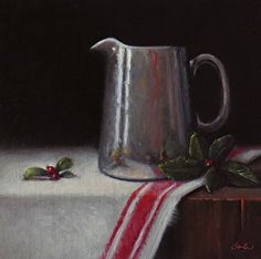 Christmas Morning by artist Darla McDowell. #painting found on the FASO Daily Art Show - http://dailyartshow.faso.com
