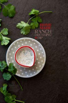 Homemade Ranch Dressing and Dip | FamilyFreshCooking.com @Marla Meridith