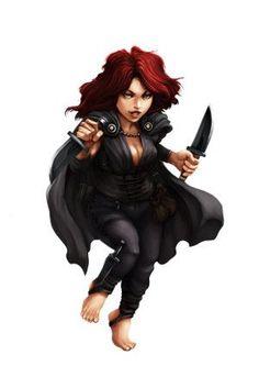 Image result for token female halfling rogue free