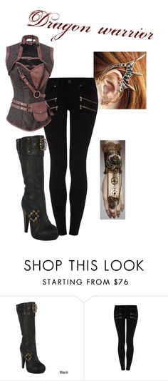 Untitled #112 by jasminalexia on Polyvore featuring Paige Denim and Ellie