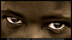 Strong disturbing eyes