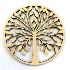Items similar to Wooden Ply & MDF Tree Shape blank,Family Tree,Wedding,Guestbook,Crafting - FREE hearts on Etsy Living Room Partition Design, Room Partition Designs, Round Design, Shape Design, Sun And Moon Drawings, Jaali Design, Laser Cutter Ideas, Dremel Projects, Celtic Tree Of Life