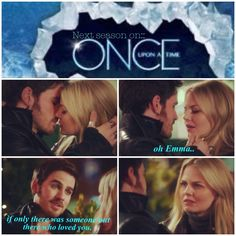 """oh emma, if only there was somebody out there who loved you."" Frozen in season 4 Once Upon a Time. well..wouldn't this make for an awful plot twist?"