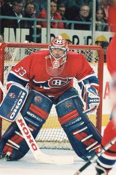 Patrick Roy Goalie Gear, Goalie Mask, Hockey Goalie, Montreal Canadiens, Mtl Canadiens, Ice Hockey Teams, Hockey Stuff, Sports Teams, Patrick Roy