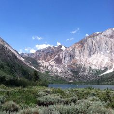 Convict Lake in summer