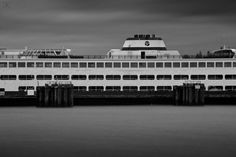 Edmonds / Kingston Ferry, Edmonds side. Washington, USA.     30 seconds, ƒ/18, ISO50.