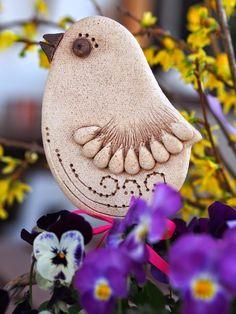 Diy Clay, Clay Crafts, Salt Dough, Birds, Create, Totem Poles, Little Birds, Homemade Polymer Clay, Polymer Clay