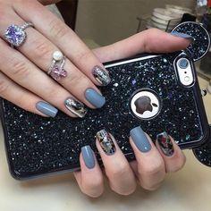 #perfect#manicure#foilnails#mattenails#nailart#design#nails#chrisnails#kristina#nailartist#winter#be#original#nailsofinstagram#nailart#nailstagram#nailstyle#nailswag#nailsdesign#nailsalon#nailprodigy#philadelphia#pa#philadelphianails