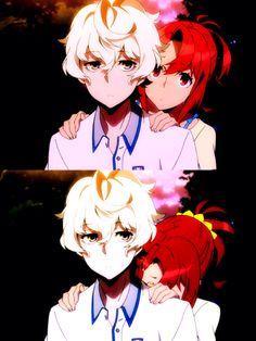Katsuhiro and Chidori , Kiznaiver
