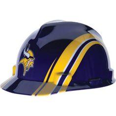 Minnesota Vikings Hard Hat - NFL Licensed Construction Safety