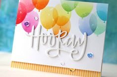 Birthday card using Neat & Tangled Products. Created by Laura Bassen.