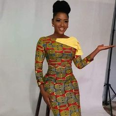 Looking for the best ankara fashion creative ideas and inspiration for your next fashion project? Look no further, here's the complete 2018 Most Creative Ankara Styles And Designs Ankara Dress Styles, Trendy Ankara Styles, African Print Dresses, African Print Fashion, Africa Fashion, African Dress, Ankara Tops, Ankara Skirt, African Prints