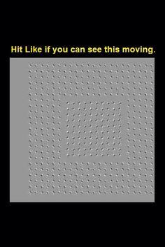 Lol it's an illusion