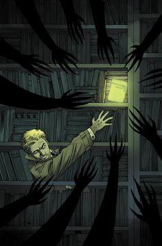 John Constantine | Tumblr Constantine Comic, Constantine Hellblazer, Dc Comics Art, Manga Comics, Comic Books Art, Comic Art, Book Art, Marvel Dc, Alita Battle Angel Manga
