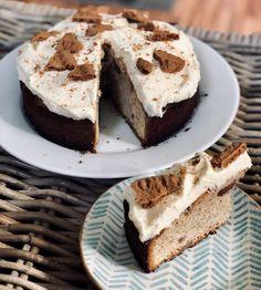 Bastogne-koffiecake met botercrème – Judoka Margriet Bergstra Desserts, Food, Meal, Deserts, Essen, Hoods, Dessert, Postres, Meals