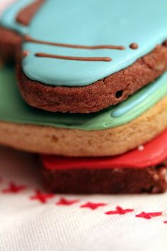 flavored roll out cookies