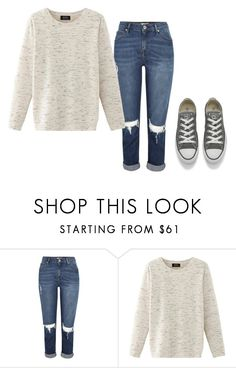 """Untitled #341"" by xxwonderland ❤ liked on Polyvore featuring Nolita and Converse"