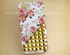 Iphone 5 Case floral studded iPhone 5 Case, $15.99