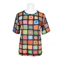granny square sweater.  love this!  other colors, but love it.  maybe use some of my scraps.