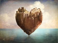 Poster | MY HEART IS MY CASTLE von Christian Schloe | more posters at http://moreposter.de